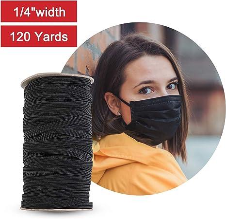 Amazon Com 120 Yard Elastic Band Braid Rope Spool Elastic String