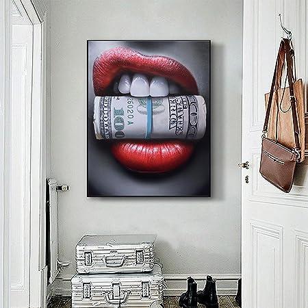 Marilyn On Sofa 30 x 30cm Bilderwelten Cuadro en Lienzo bastidores de Madera