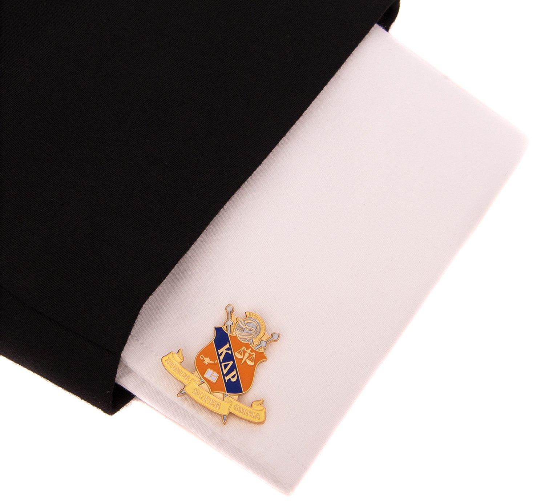 Desert Cactus Kappa Delta Rho Fraternity Crest Cufflinks Greek Formal Wear Blazer Jacket KDR by Desert Cactus (Image #3)