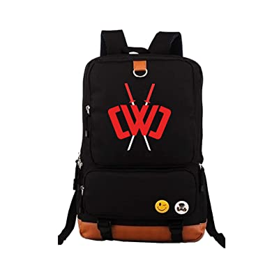 Men's and Women's Travel Backpacks, Chad Wild Clay Boys and Girls Fashion Canvas Outdoor notebook backpack | Kids' Backpacks