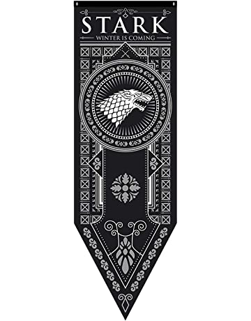 TianLinPOT Banderas Juego de Tronos Estilo Banner Casa Sigil de Pared (46 * 150 cm