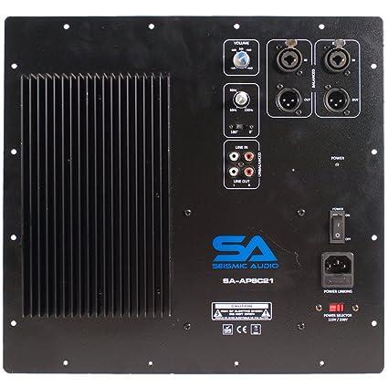 Amazon.com: Sísmica Amplificador de audio – sa-apsc21 ...