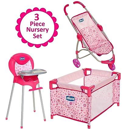 Amazon.com: Chicco - Juego de muñecas para cochecito de bebé ...