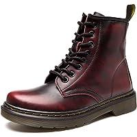 Donna Pelle Moda Caviglia Stivali Inverno Classici Stivaletti Uomo Impermeabile Stringate Boot