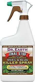 product image for Dr. Earth Final Stop Snail and Slug Killer Spray RTU [Set of 12]