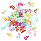 1500pcs Iridescent Sweet Mermaid Sequins Flat