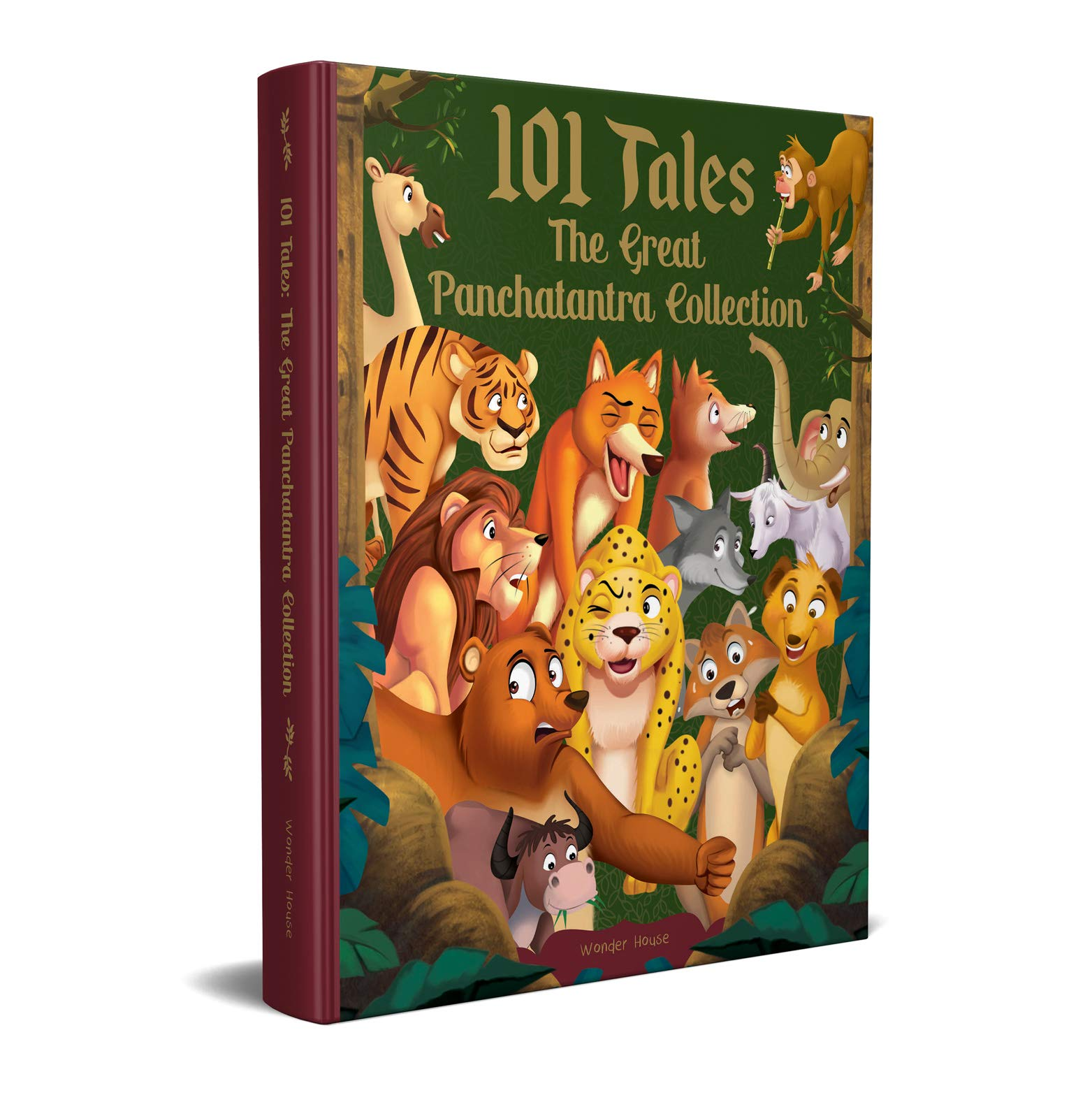 101 Tales The Great Panchatantra Collection – Collection Of Witty Moral Stories For Kids For Personality Development (Hardback)