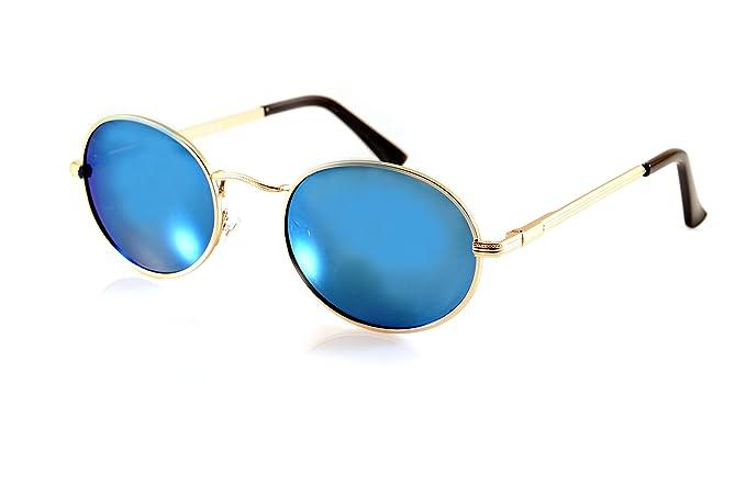 Amazon.com: FBL John Lennon Retro Oval anteojos de sol ...