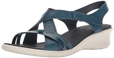 7ac48d2c245 ECCO Women s Felicia Open Toe Sandals  Amazon.co.uk  Shoes   Bags