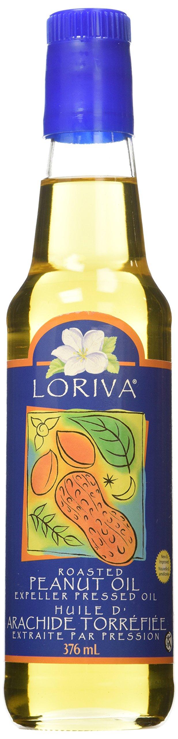 Loriva Canadian Oil, Roasted Peanut, 12.7 Ounce
