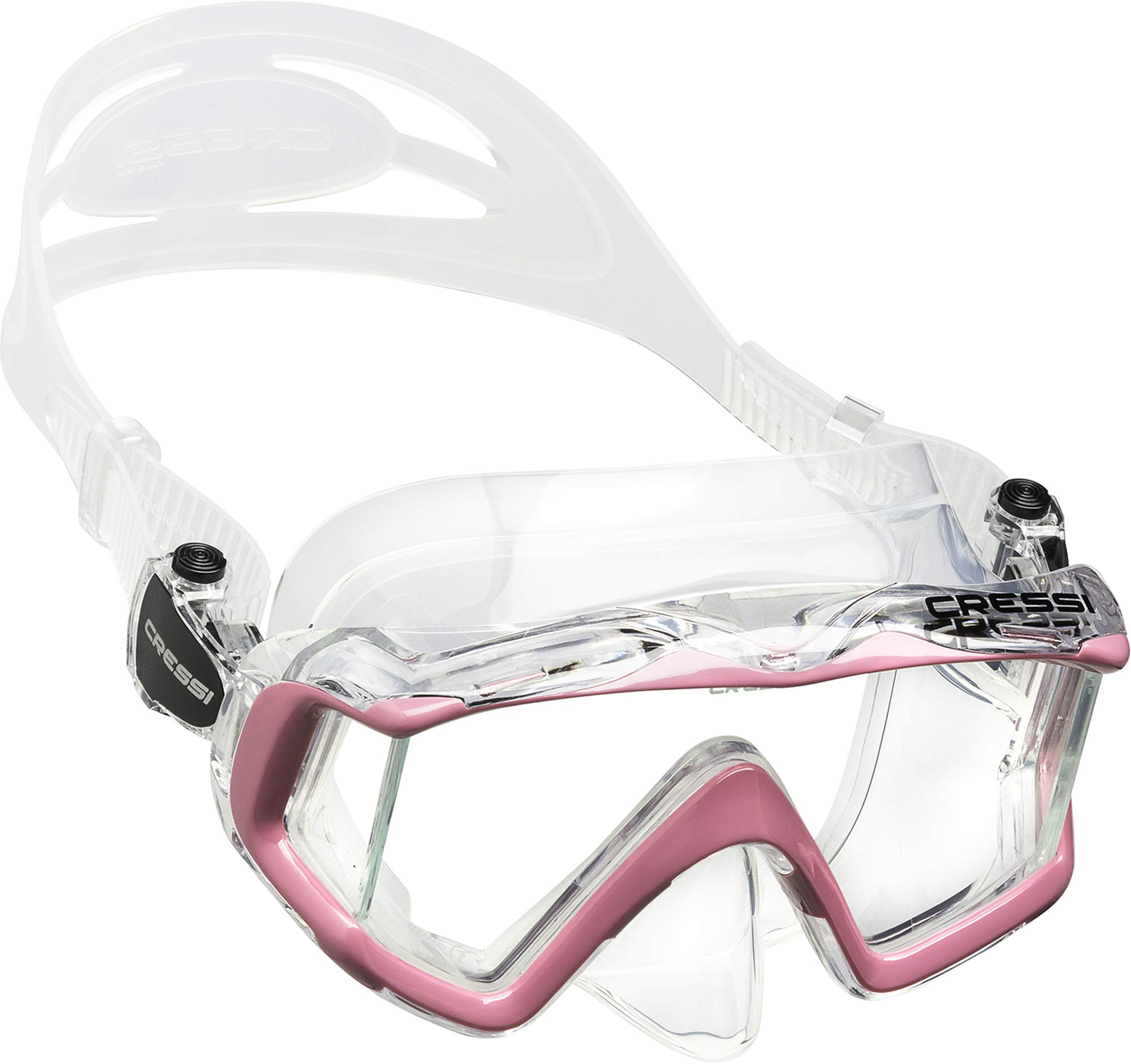 Cressi Pano 3, Clear/Pink