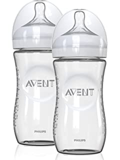 Philips Avent Natural Glass Baby Bottle Gift Set: Amazon.co.uk: Baby