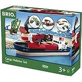 Brio - 33061 - Jouet Premier Age - Circuit d'Activités Portuaires