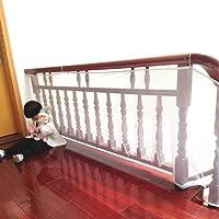 Amknn filet de sécurité pour enfants, pour rampe d'escalier, balcons, résistant, imperméable, réglable, usage intérieur et extérieur