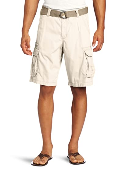 477d8dea62 Lee Men's Dungarees Belted Compound Zipper Cargo Short, Rawhide, 30:  Amazon.in: Clothing & Accessories