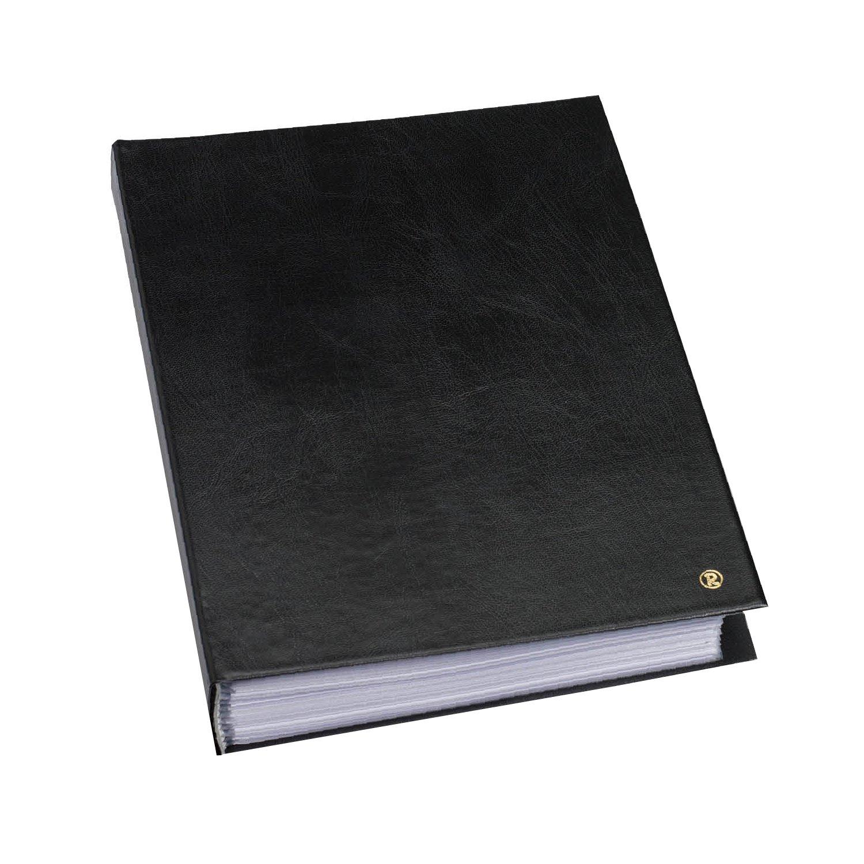 Rillstab RI99424 Á lbum de fundas Original A4, 20 fundas internas, negro