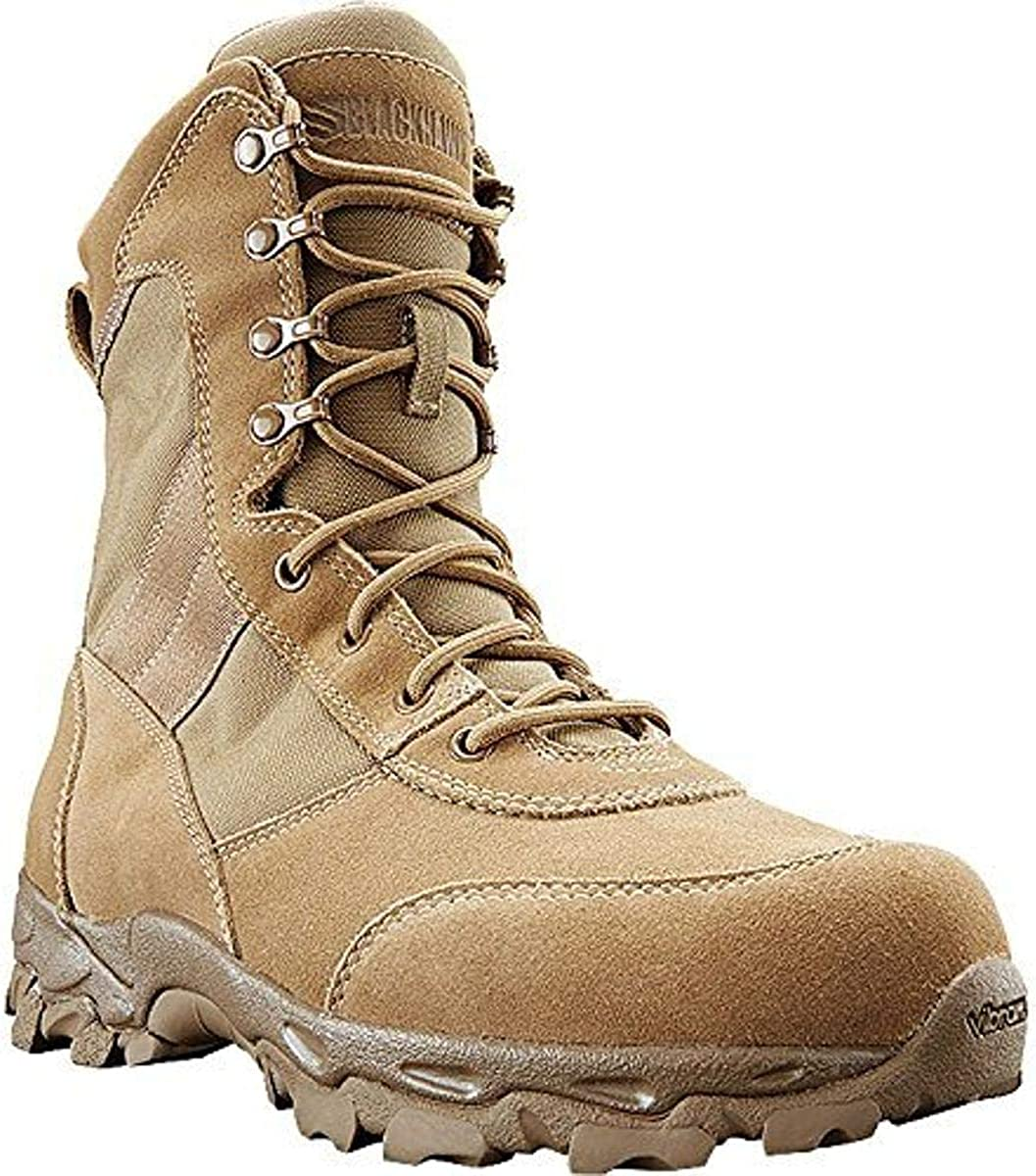 BLACKHAWK BT05CY10M Desert Ops Coyote 498 Boots, Coyote Tan, Size 10/Medium: Clothing