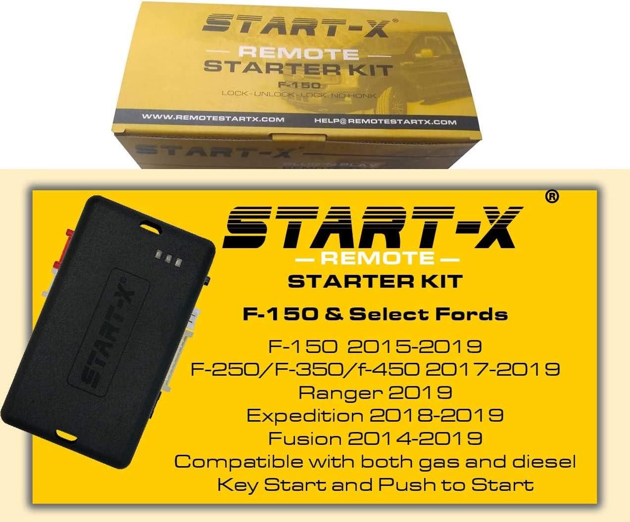 Start-X Remote Starter Ford F-150 2015-2019