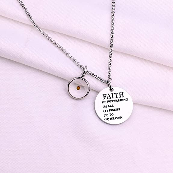 Child//Youth size in Sterling Silver Mustard seed necklace