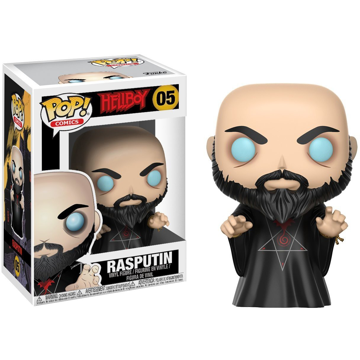 22720 1 Superhero Themed Trading Card Bundle BCC944P05 Comics x Hellboy Vinyl Figure Funko Rasputin POP