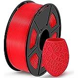 SUNLU PLA 3D Printer Filament, PLA Filament 1.75mm Dimensional Accuracy +/- 0.02 mm, 1 kg Spool, PLA Red
