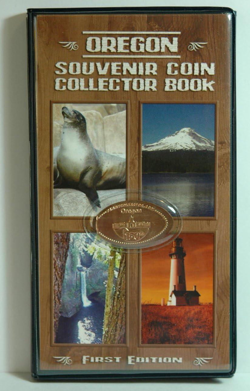 Elongated  Pressed Penny Souvenir Book  Album Walrus