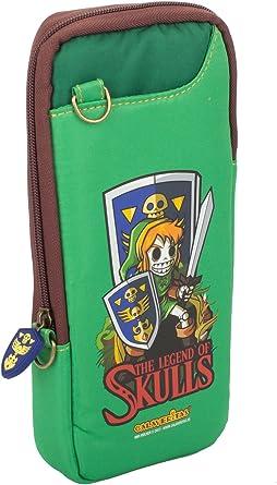 Indeca - Bolsa Slim Zelda Calaveritas (Nintendo Switch): Amazon.es: Videojuegos