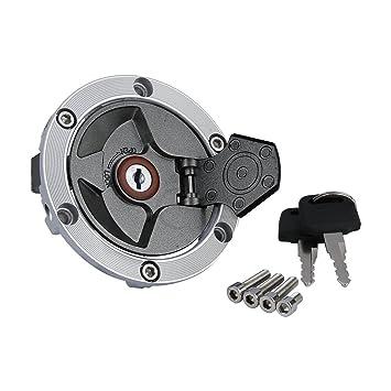 Amazon.com: Fuel Gas Tank Cap Cover Lock Key For Kawasaki ...