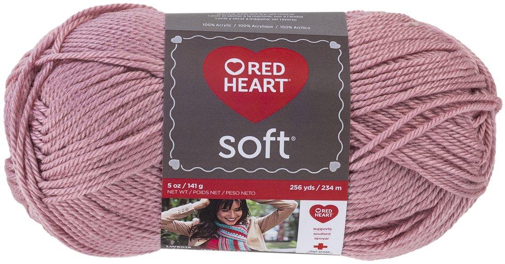 Amazon Red Heart Soft Yarn Rose Blush