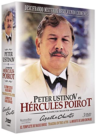 Peter Ustinov - Hercules Poirot - DVD: Amazon.es: Bill Nighy ...