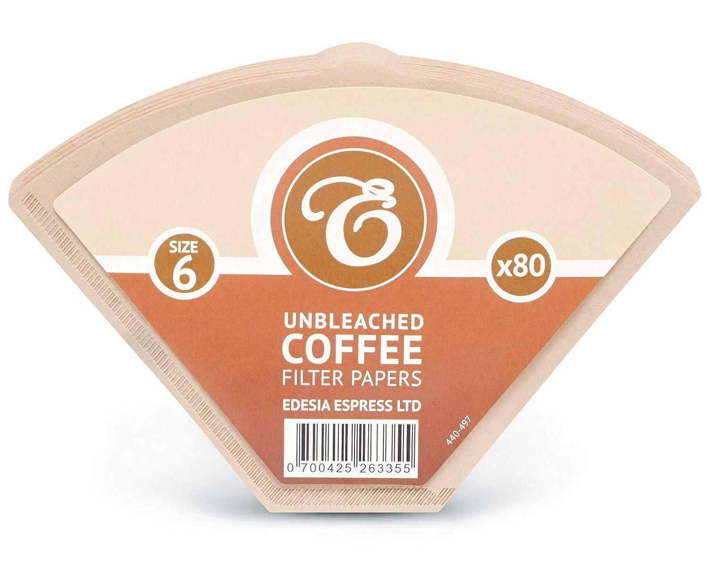 EDESIA ESPRESS - Pack de 160 filtros de papel para café - Tipo ...