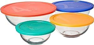 Pyrex 8 pc Mixing Bowl Set