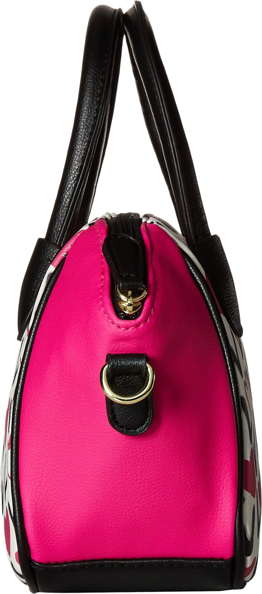 Luv Betsey Women's Quinn Mini Size PVC Satchel Love Pink-Az One Size by Luv Betsey (Image #3)