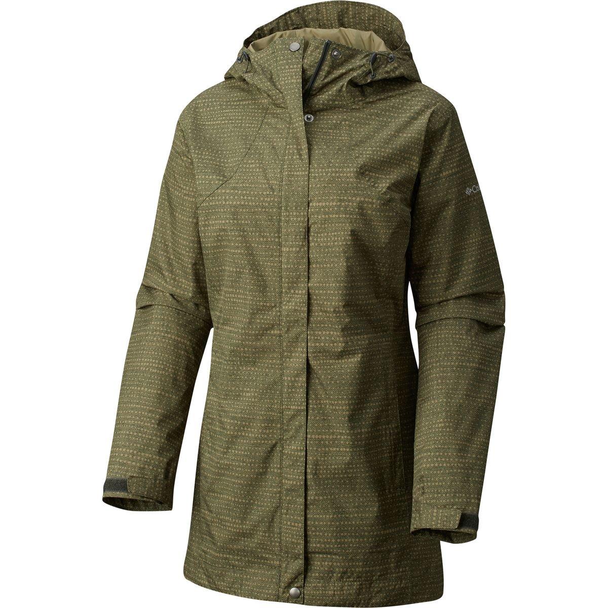(コロンビア) Columbia Splash A Little Rain Jacket レディース ジャケットGravel Dotty Dye Print [並行輸入品] XS Gravel Dotty Dye Print B073VDYS86