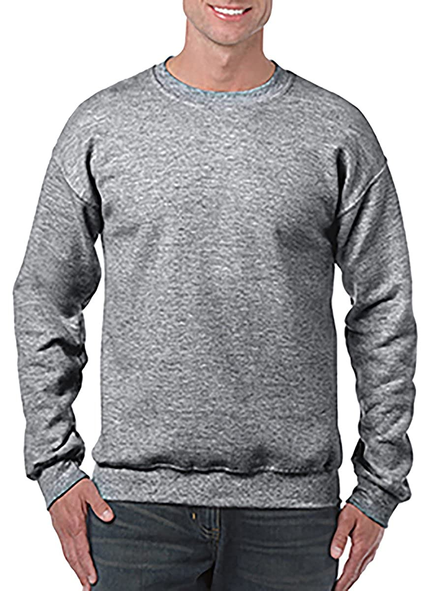 Gildan Men's Heavy Blend Crewneck Waistband Sweatshirt G180