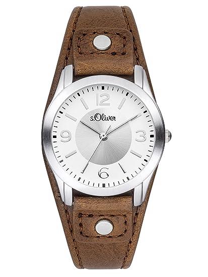 the latest c4f85 75c0f s.Oliver Damen-Armbanduhr SO-3241-LQ