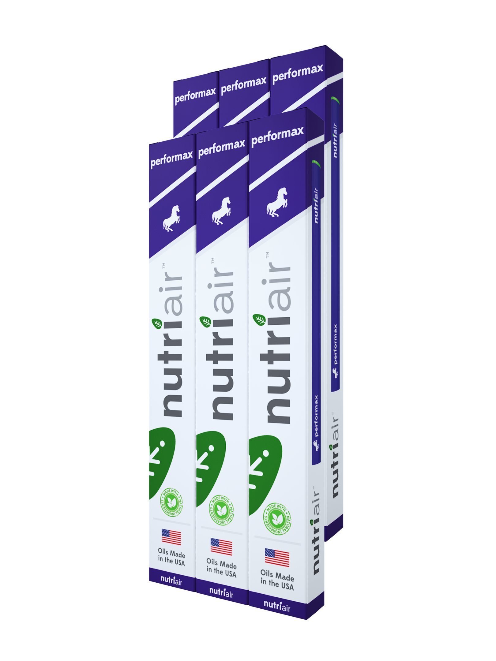 Nutriair Performax – Nutritional Supplement Inhaler – Men and Women's Sexual Enhancement Booster – Enhance Your Performance and Stamina QUICKLY – Increase Pleasure with Sensual Aromatherapy (6 pack)