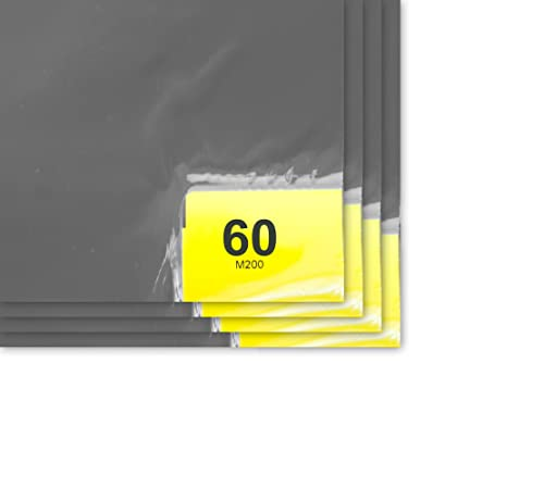 Purus PS 1836 64 G Grey 60 Layer Purus Mat, 36 Length x 18 Width Case of 4 Pads, 60 Layers per Pad