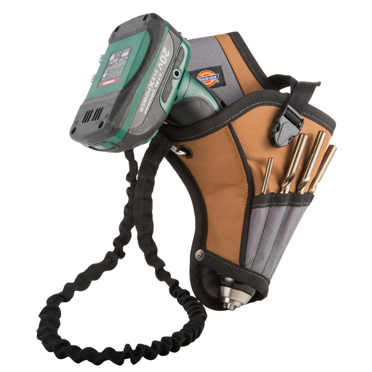 Dickies Work Gear 57097 5-Pocket Drill Holster with Safety Tether by Dickies Work Gear (Image #5)