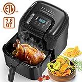 KOIOS Air Fryers Oven, Max XXL 7.8-Quart Dehydrator, 1800-Watt 4*6 Presets for Air Frying, Roasting, Reheating…