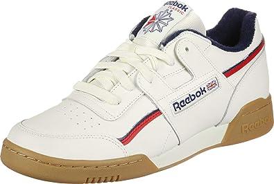 94bfa7cf32 Amazon.com | Reebok Shoes Men Low Sneakers DV4293 Workout Plus MU ...