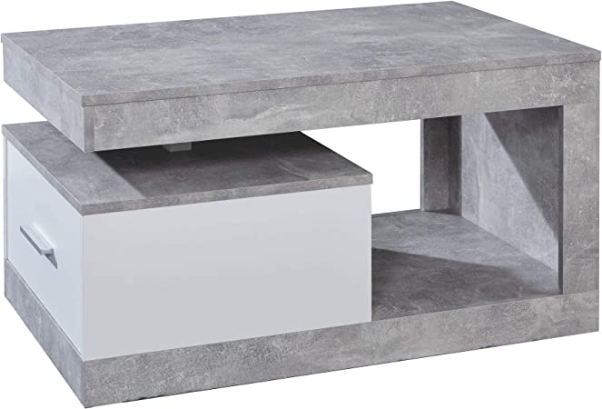 Maisonnerie Table Basse De Salon Avec Beaucoup D Espace De