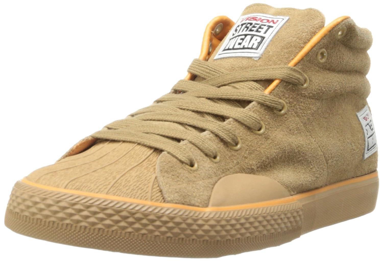Vision Street Wear Women's Suede Hi Sneaker B00HDH4ZXQ 7.5 B(M) US|Tan