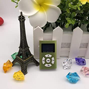 Smartlove1P MX-808 Mini MP3/MP4 Reproductor con Tarjeta ...