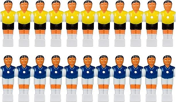 Barres pour Barres Tuniro 22/x Table Football Figurines pour 5//8/ou 15,9/mm Barres Creuses Pleine avec /écrou de vis et Jeu de Table Kicker Kicker