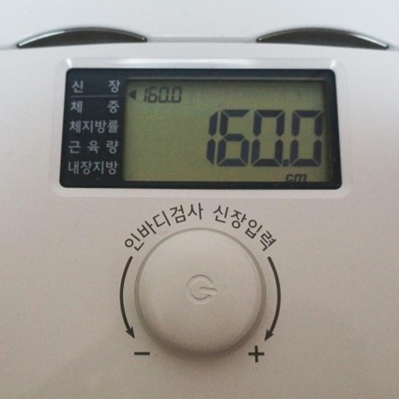 Amazon.com: Inbody Dial H20b Body Fat Composition Analyzer Digital Bluetooth Scale: Health & Personal Care