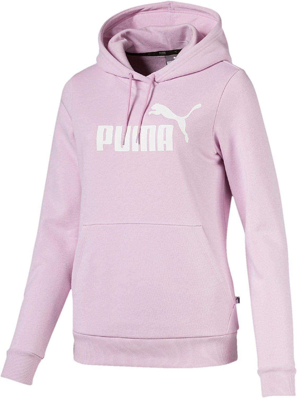 Puma Hoodie Classic Logo 2019 rosa Damen