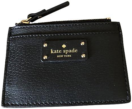 huge selection of bdefa 00cdf Kate Spade Credit Card Holder Black