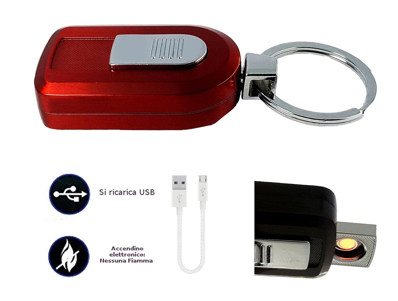 Mechero llavero electrónico USB ecológico antiviento ...