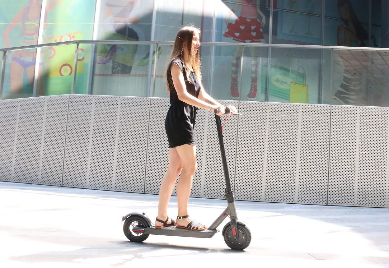 Wind Goo Patinete electrico - Scooter Negro: Amazon.es ...